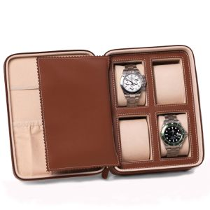 Drake Leather Travel Watch Case