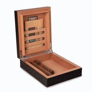 Espresso Wood Cigar Humidor Box