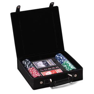 Parker Black Poker Set